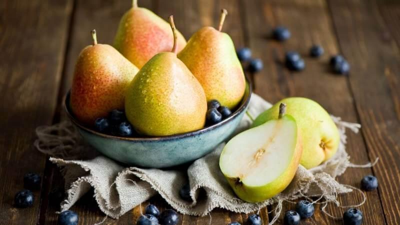 Какие витамины есть в груше
