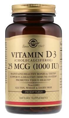 Витамин Д3 Солгар