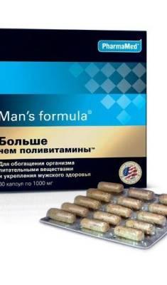 Менс Формула – больше, чем поливитамины