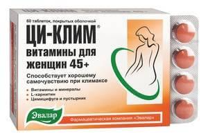 ци-клим витамины для женщин 45+