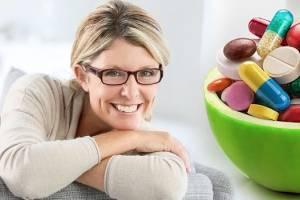 витамины для женщины 50+