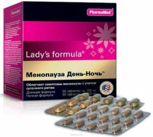 ледис формула менопауза день-ночь