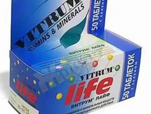 Витамины витрум для мужчин отзывы